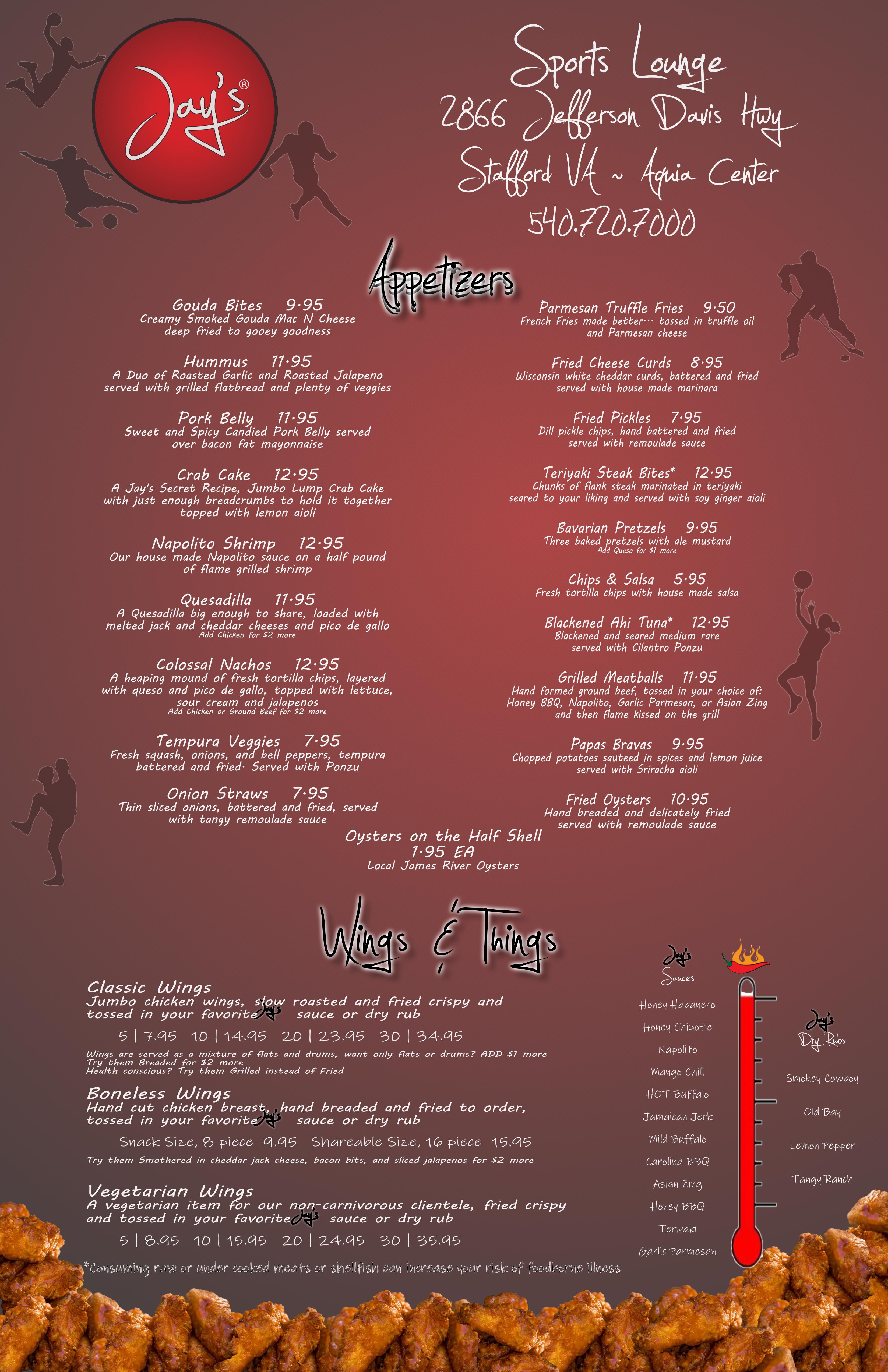fburg menu